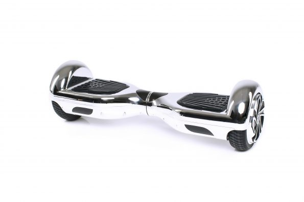 chrome silver Hoverboard #iHover